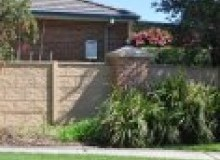 Kwikfynd Barrier wall fencing albury
